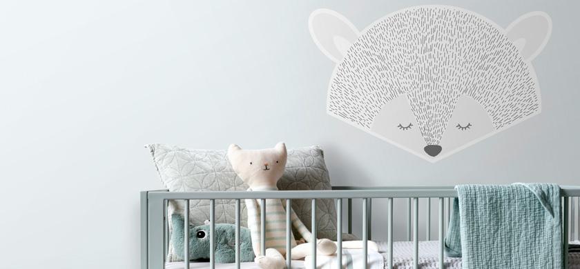 adesivo da parete per bambini