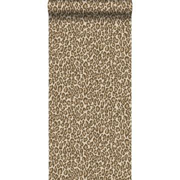 carta da parati pelle di leopardo marrone da ESTA home