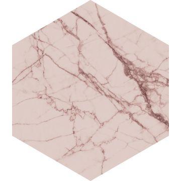 adesivo da parete marmo rosa grigio da ESTA home