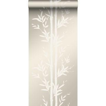 carta da parati bambù bianco sporco da Origin