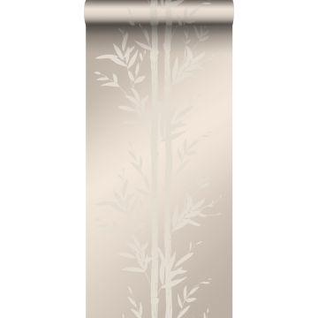 carta da parati bambù argento caldo da Origin