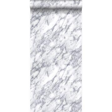carta da parati marmo bianco avorio scuro da Origin