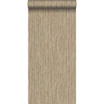 carta da parati bambù marrone chiaro da Origin