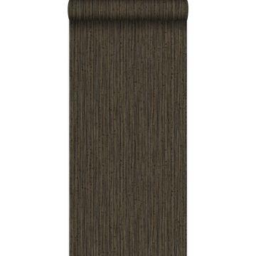 carta da parati bambù marrone da Origin