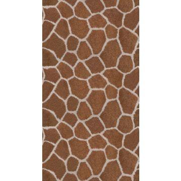 fotomurale a stampa pelle di giraffa marrone da Origin