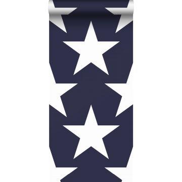 carta da parati stelle blu navy da Sanders & Sanders